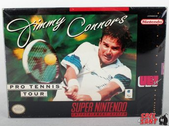 Jimmy Connors Pro Tennis Tour (inkl. Skyddsbox & Amerikansk Version)