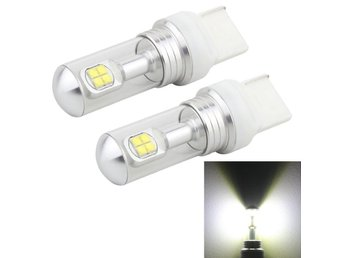 LED blinkers lampa 7440 40W 800 LM 6000K - 2Pack