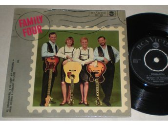 Family Four EP/PS Hemmakväll 1966 - Farsta - Family Four EP/PS Hemmakväll 1966 - Farsta
