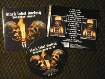 CD: BLACK LABEL SOCIETY - Hangover Music (2004) Zakk Wylde - Malmö - CD: BLACK LABEL SOCIETY - Hangover Music (2004) Zakk Wylde - Malmö