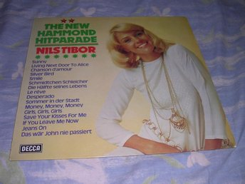 Nils Tibor - New Hammond Hit Parade LP Hammond Lounge NM/EX