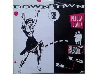 "Petula Clark title* Downtown '88* Funk, Soul, Synth-pop 12"" UK"