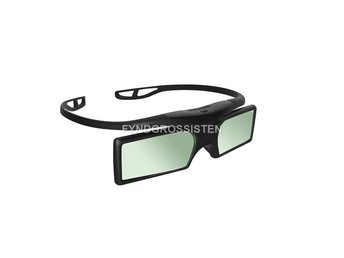 3D Glasögon Active Shutter Stereoscopic Glasses For TV Proje