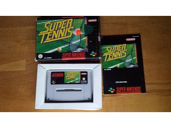 SNES/PAL Super Tennis - Komplett
