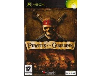 XBOX - Pirates of the Caribbean (Ej bok) (Beg)