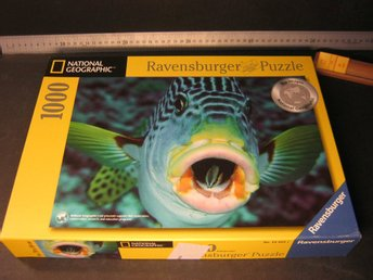 1000 b, Ravensburger 2005,National Geographic, Mkt fint skick