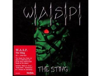 WASP: The sting - Live 2000 (Digi/DeLuxe) (CD + DVD)