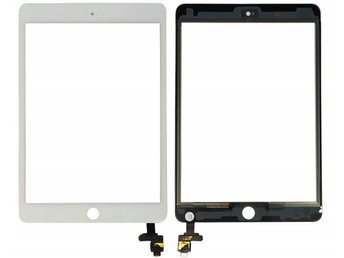 iPad mini 3 Glas/Digitizer Touch Panel- Vit