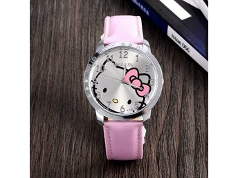 Hello kitty barnklocka,