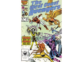 West Coast Avengers nr 10 (1986) / VF/NM / toppskick