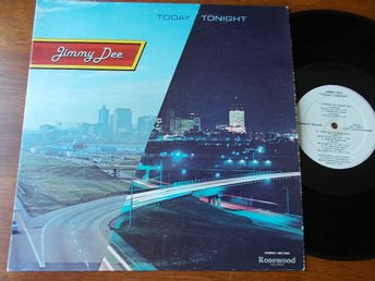 JIMMY DEE - Today Tonight, LP Rosewood Nashville USA 1977