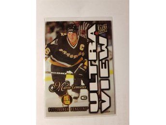1995-96 Fleer Ultra Extra Ultra View Hot Packs Mario Lemieux