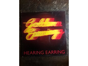 GOLDEN EARRING - Hearing Earring. 1973. UK Press! RARE BRAILLE! Progg.