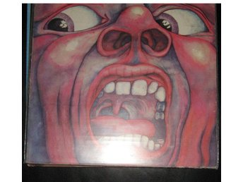 "king crimson LP "" inthe court of the crimson king"