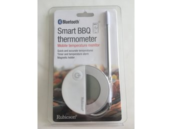 Ny i förpackning Bluetooth Smart BBQ thermometer Rubicson bbq termometer