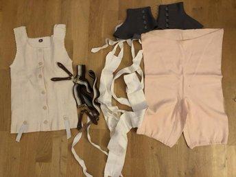 bra priser söt billig varm försäljning Parti diverse äldre retro kläder bl.a korsett, .. (380380150) ᐈ ...