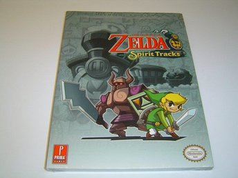 The Legend of Zelda Spirit Tracks Guide till Nintendo DS Spel NYTT*