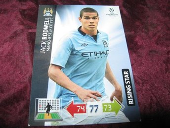 JACK RODWELL-MANCHESTER CITY-RISING STAR-CHAMPIONS LEAGUE 2012-2013