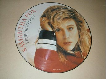 Samantha Fox - True Devotion UK-87 (Picture Disc)