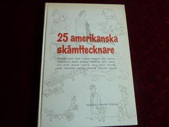 25 AMERIKANSKA SKÄMTTECKNARE, J. RÖSSEL, 1955, BÖCKER - Anderstorp - 25 AMERIKANSKA SKÄMTTECKNARE, J. RÖSSEL, 1955, BÖCKER - Anderstorp