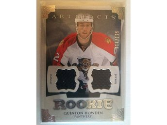 2013-14 Upper Deck Artifacts Jerseys #187 Quinton Howden (nr 017/125) - Torshälla - 2013-14 Upper Deck Artifacts Jerseys #187 Quinton Howden (nr 017/125) - Torshälla