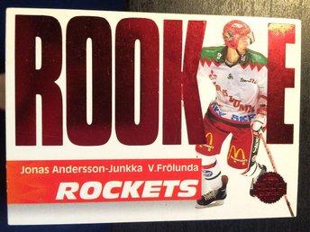 1994-95 Leaf Rookie Rockets ELIT #2 Jonas Andersson-Junkka Frölunda - Torshälla - 1994-95 Leaf Rookie Rockets ELIT #2 Jonas Andersson-Junkka Frölunda - Torshälla