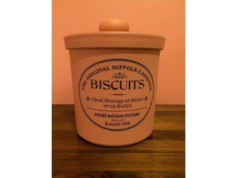 Henry Watson Pottery Biscuits Kakburk Original Suffolk collection