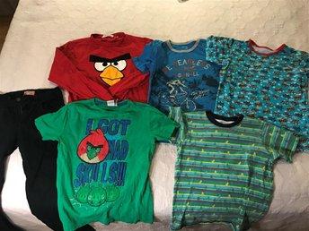 Klädpaket- jeans, t-shirts, sweatshirt: stl 146/152 - Kungsängen - Klädpaket- jeans, t-shirts, sweatshirt: stl 146/152 - Kungsängen