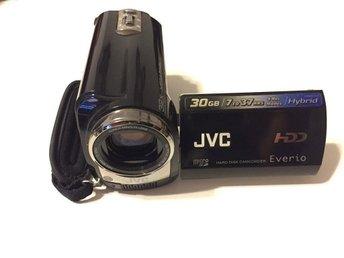 """JVC Everio VideokameraLCD-2.7"""" 30GB hårddisk med 32x optisk / 800X digital zoom - Malmö - JVC Everio VideokameraLCD-2.7"""" 30GB hårddisk med 32x optisk / 800X digital zoom - Malmö"""