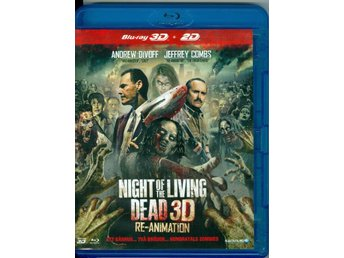 BluRay - NIGHT OF THE LIVING DEAD (re-animation)