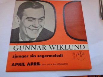 GUNNAR WILUND: April April