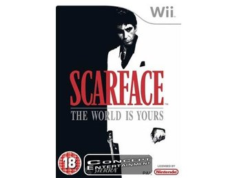 SCARFACE – THE WORLD IS YOURS (komplett) till Nintendo Wii