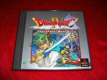 Dragon Quest IV  RPG PS1 JAP