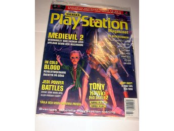 PLAYSTATION Mag 30 NY CD JUN2000  MEDIEVIL 2 I ORIGINALPLAST
