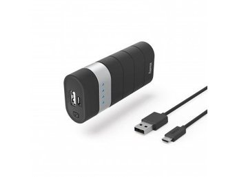 HAMA Powerbank 5200mAh Joy 2,1A 5V Svart