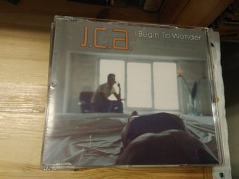 J.C.A. - I Begin To Wonder, CD maxi-single. Jean-Claude Ades