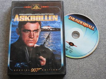 James Bond 007: Åskbollen DVD - Sean Connery (Thunderball)