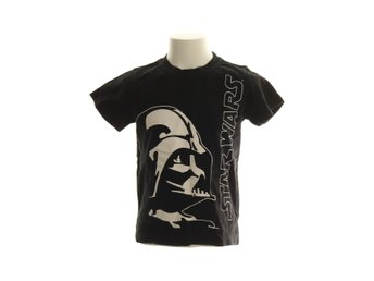 Star Wars, T-shirt, Strl: 116, Svart/Vit