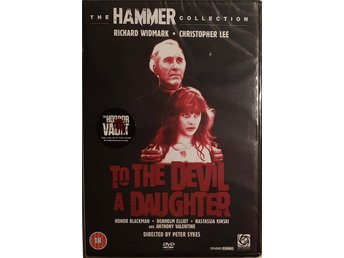 To The Devil A Daughter (The Hammer Collection) DVD.
