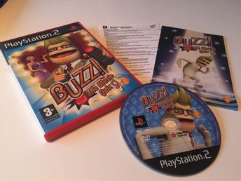 Playstation 2 (PS2) Buzz The Music Quiz
