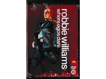 "Robbie Williams "" Where Egos Dare ""  DVD , Ny inplastad"