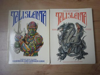 Talislanta 2e + A Naturalists Guide to Talislanta, Bard Games 1989