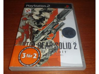 Metal Gear Solid 2 Sons Of Liberty - PS2 / Playstation 2