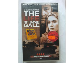 VHS - The Life Of David Gale