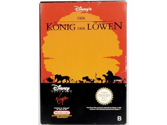 The Lion King - Nintendo NES - PAL (EU)
