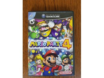 Nintendo Gamecube spel Mario party 4 PAL komplett