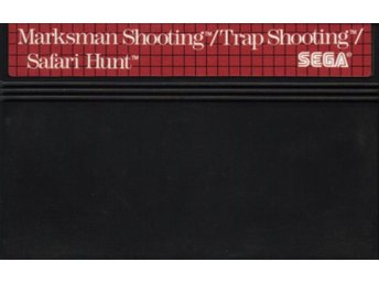 Marksman Shooting / Trap Shooting / Safari Hunt - Master System