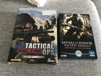 Medal Of Honor + Tactical Ops
