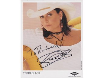 TERRI CLARK CANADIAN COUNTRY MUSIC ARTIST AUTOGRAF FOTO