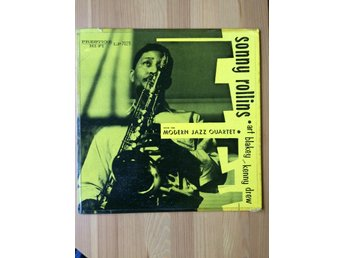 SONNY ROLLINS With the modern jazz quartet PRESTIGE US-